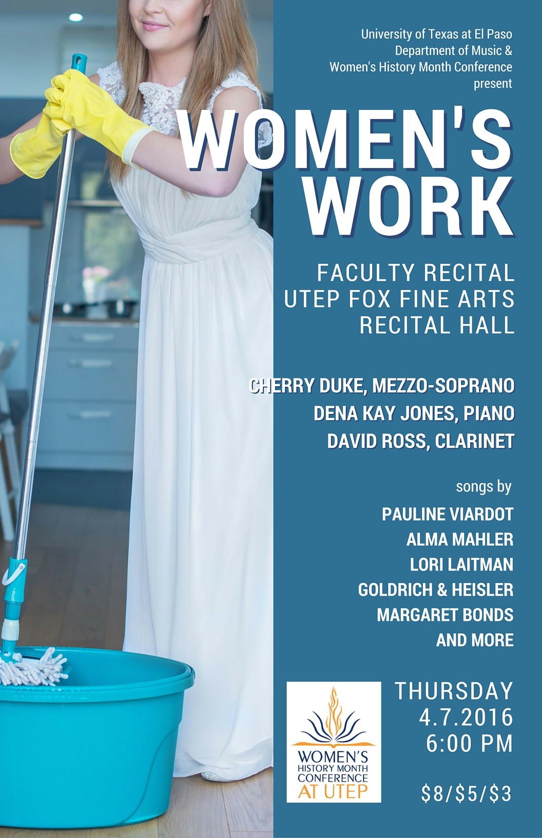 Women's Work: Faculty Recital at UTEP