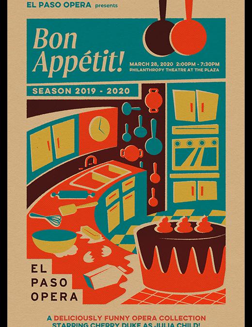 Bon Appetit with El Paso Opera – 03/28/20
