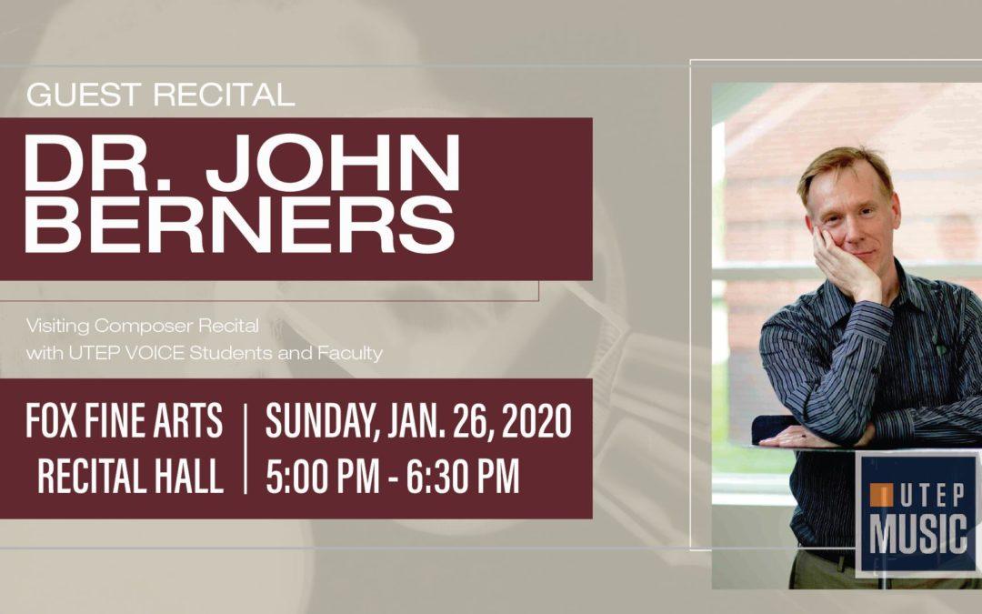 Music of John Berners – 01/26/20