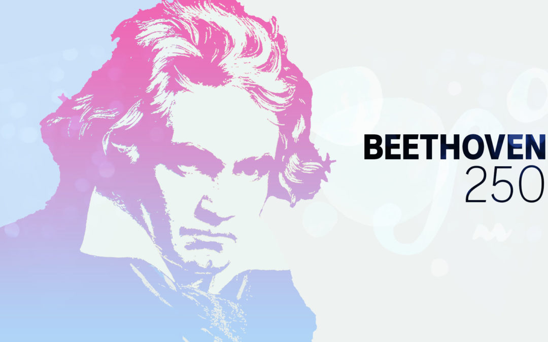 picture of beethoven and the number 250